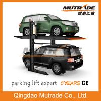 two level mechanical school parking car