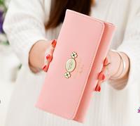 2015 PU Sweet Candy Flowers Buckles Cross Lady's purse