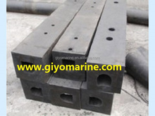 high elasticity and mechanical absorbent square boat rubber fender for sale