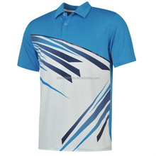 2015 new golf polo shirts for men with logo