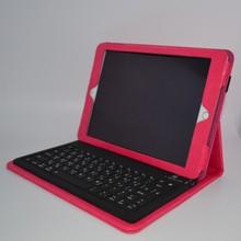 Universal Control bluetooth keyboard pu leather case for ipad 5
