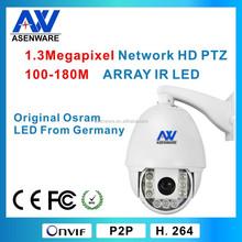 360 degree ip66 ptz bullet camera 960P