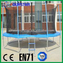 Anhui Fourstar wholesale trampoline, 16FT inflat trampolin