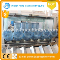 Automatic 5 gallon water filling machine/5 gallon bottle washing filling capping machine /water filing machine
