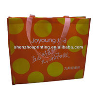 New arrival Fashionable high quality PP full color lamination non woven bag for shopping