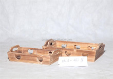 new design wooden storage tray with lovely heart
