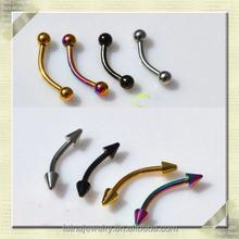balls titanium piercing eyebrow piercing jewelry eyebrow jewelry slave piercing jewelry (WYSM-002))