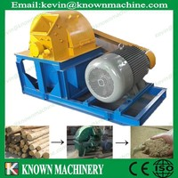 The CE approved high performance sawdust making machine / wood crusher