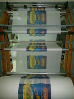 For printing PP/PE plastic bag letterpress print machine