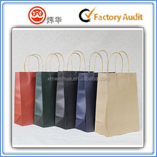 TOP sale colorful personalized kraft paper bag