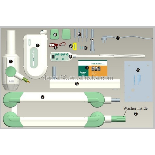 fashion design 0.8mm Focus CE approved dental x ray unit
