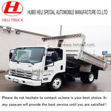 10 toneladas camión volquete pequeños o volcado de camiones isuzu mini camiones volquete en alta calidad