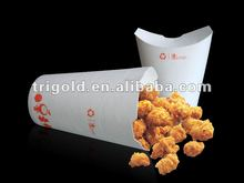 350cc/12oz disposable fried chicken cup hamburger, french fries,chicken,pasta