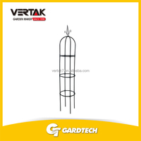 Competitive price steel garden obelisks plant support