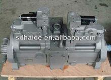 hyundai excavator pump,hyundai excavator parts for R55 W3,R200,R55-7S,R60-7,R80-9,R110-7,R215-9C,R335-9T,R485-9