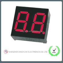 Hot selling spi alphanumeric 7 segment led display 2 digits module