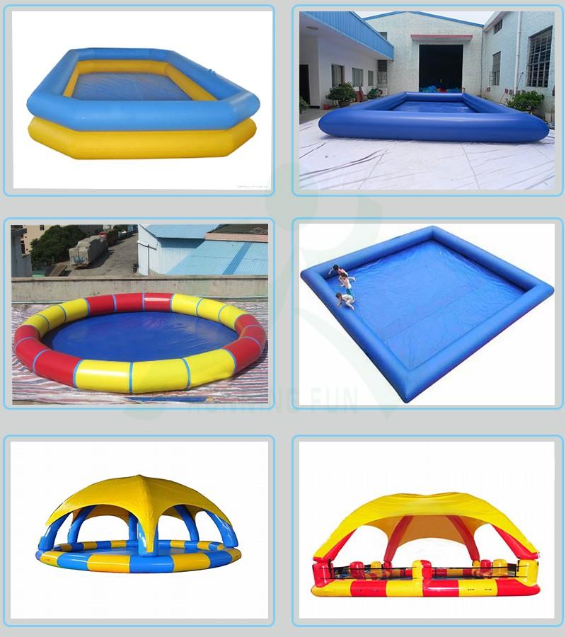 Prix usine tanche gonflable couverture de piscine for Accessoire piscine fun