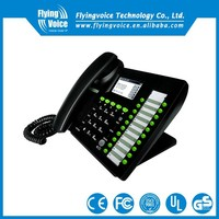 Latest! IP652 VoIP phone 40 dss key voip sip ip phone wired for Boss secretary and reception