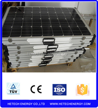 import from china pv supplier best price mono foldable solar panel 180w for RV for camping