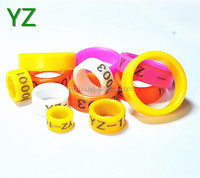 2016 colorful animal rings chicken tags