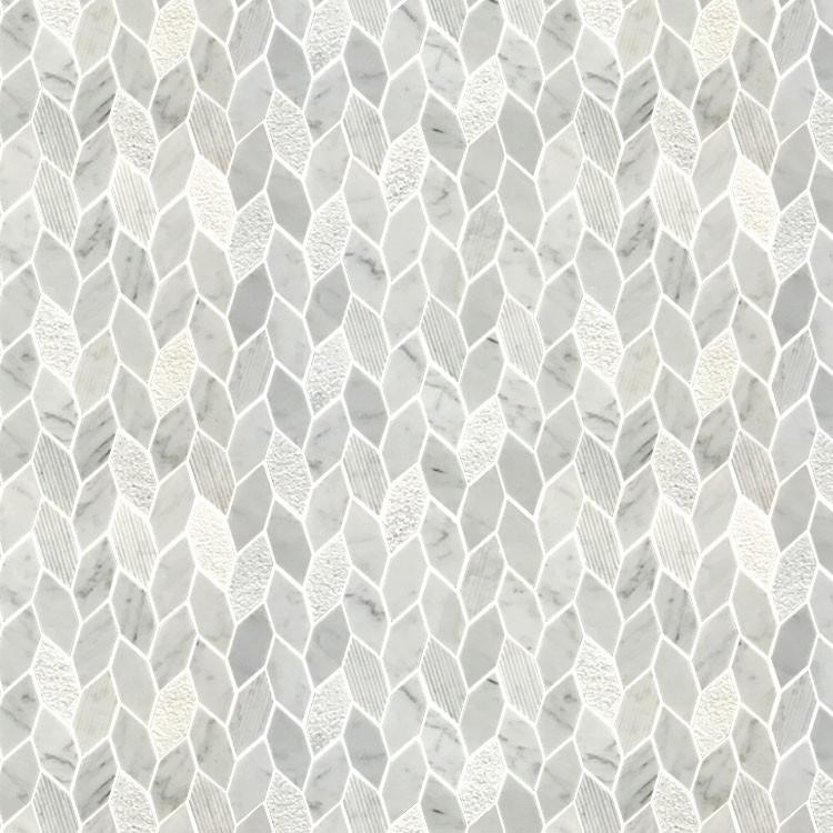 Flower Waterjet Marble Tiles Design Floor Pattern Buy