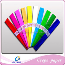 party handmade,color double-side,home decoration, crepe paper
