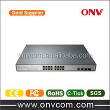 Ethernet Switches POE NVR /IP Camera , poe swirch ,OEM 18 Ports , 18 ch poe switch
