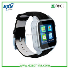 Top hot sale high quality smart watch phone support wifi/3g/gps/sos function factory
