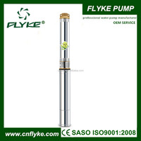 QJD stainless steel deep well submersible water pump 3 inch diameter