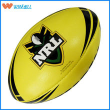 New arrival brand logo cheap rugby ball