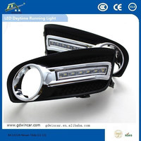 White Color LED Light/DRL for Nissan Tiida Car Lamp LED Daytime Running Light(2011-2014)