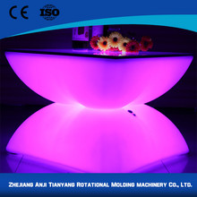 New style RGB rechargeable wholesale led lounge table