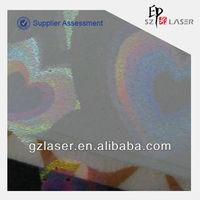 Hologram new zealand plastic film for packaging