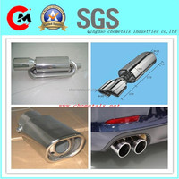 titanium plating muffler exhaust tip