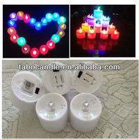 Color Changing LED Tealight With on/off