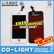 Free shipment ! Paypal accepted ! Wholesale for iPhone 5S 5c Lcd Touch Screen lcd digitizer assembly with spare parts