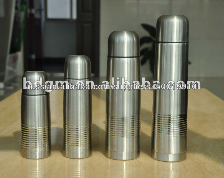 stainless steel bullet vacuum bottle