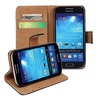 Genuine leather case for samsung galaxy s4 mini i9190 protective skin