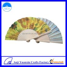 Cheap Bulk Gifts For Women Handicraft Wooden Fan