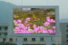 P6mm full color outdoor SMD LED display scrolling led sign Wifi wireless double sided outdoor scrolling led sign
