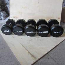 rubber dumbbell weight set prices