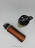 600ml/700ml single wall stainless steel car/bicycle bottle with plastic straw