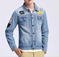 fashion good quality cheap mens classic denim jacket