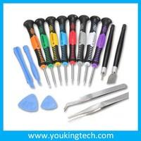 16pcs mobile phone repair tool kit tweezers screwdriver opening tools for DIY