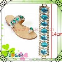 popular rhinestone shoe adornments