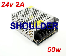 Switching Power Supply 24V 2A 48W AC Adapter For 3528 5050 RGB SMD LED Strip Light AC DC Adapter Charger