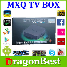 mxq amlogic s805 android 4.4 tv box with astro hd quad core 1g/8g 4k media palyer
