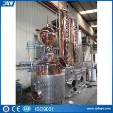 250L vente chaude cuivre distillateur avec colonnes cuivre Stills Distillation hybride Stills