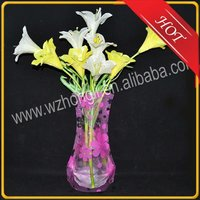 disposable flower vase