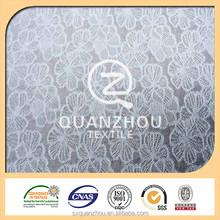 Proveedor textil surtidor de China elegante tapicería tela del cordón del vintage
